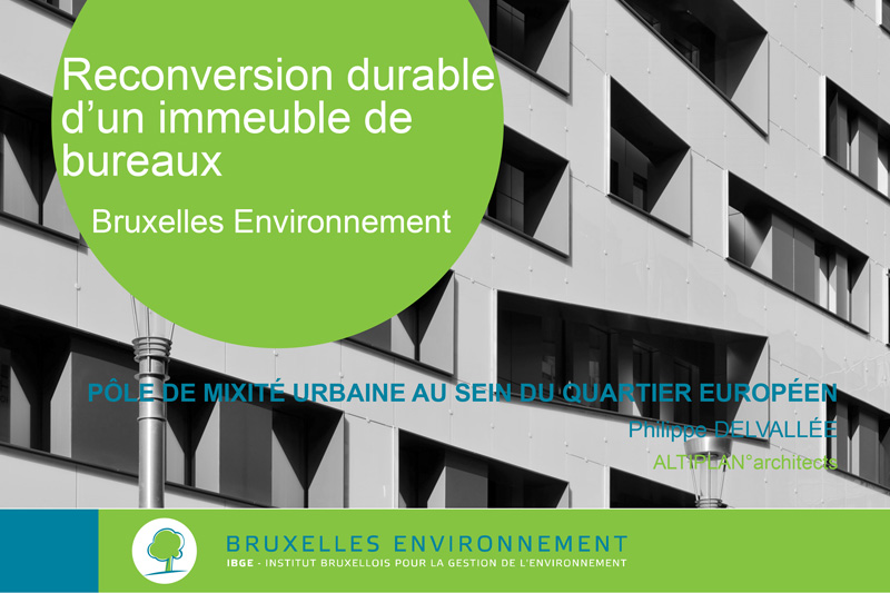 "Seminar on ""Sustainable transformation of office buildings"""