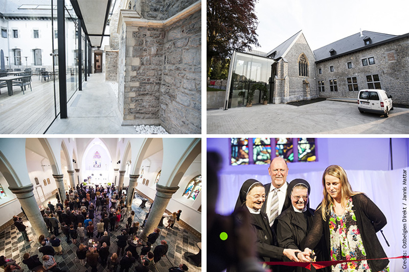 Opening of the Heidberg Convent