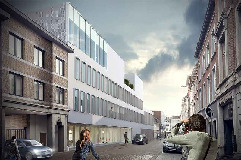 Competition for the new SWDE building in Verviers