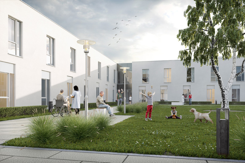 Green light for St-Joseph Resthome project in Eupen