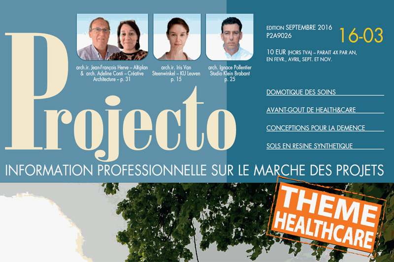 "Projecto Magazine ""La Barcarolle Resthome in Stembert"""