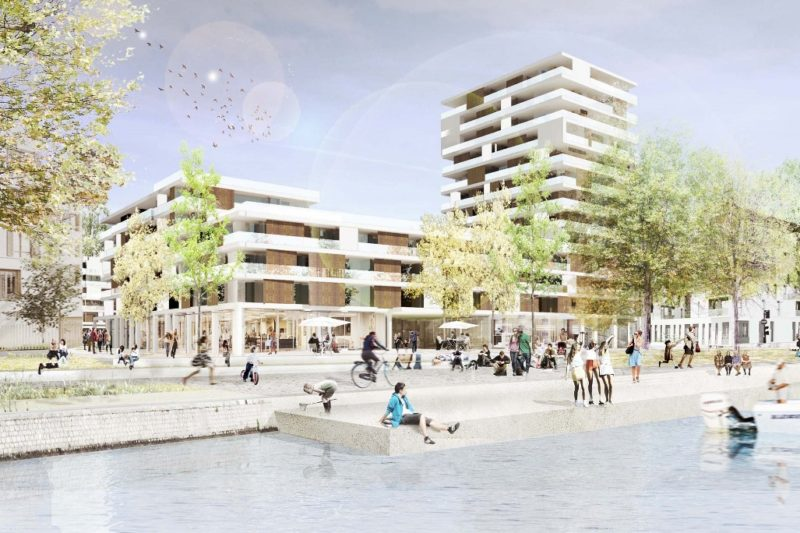 THE PROJECT FOR A NEW SUSTAINABLE NEIGHBOURHOOD PLANNING AND DESIGN FOR THE SITE OF CORONMEUSE AT LIEGE