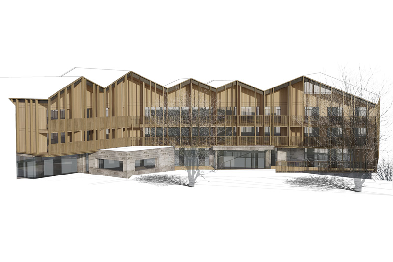 Building permit granted for the ALP hotel project in Saint-Martin-de-Belleville (France)