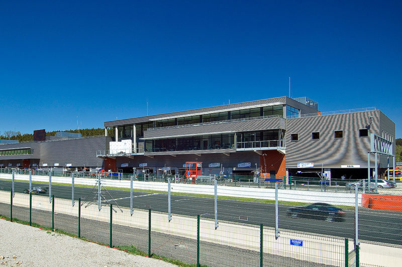 Francorchamps F1 Racetrack